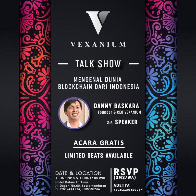 Vexanium Roadshow to Yogyakarta