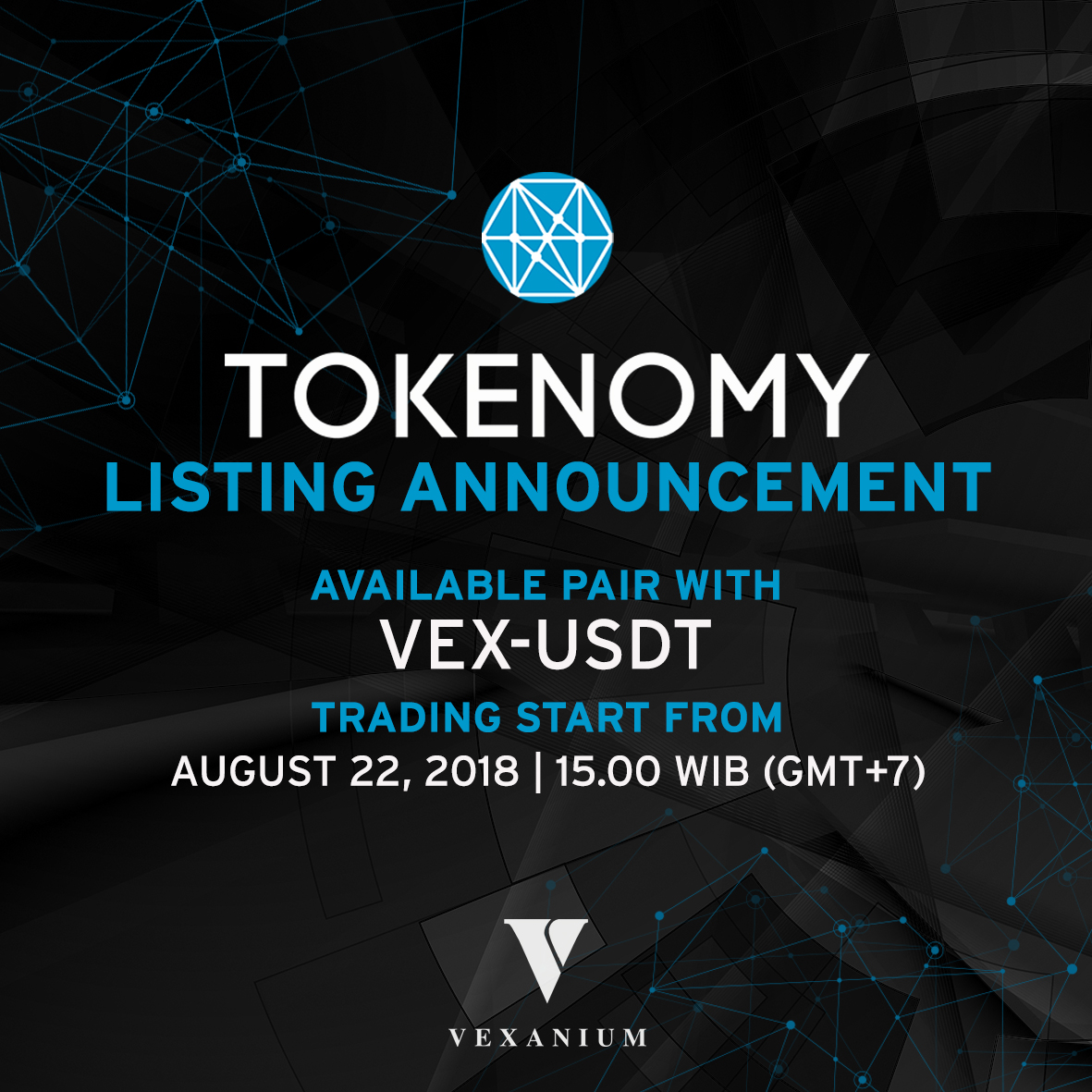 Exchange Announcement: VEX – USDT