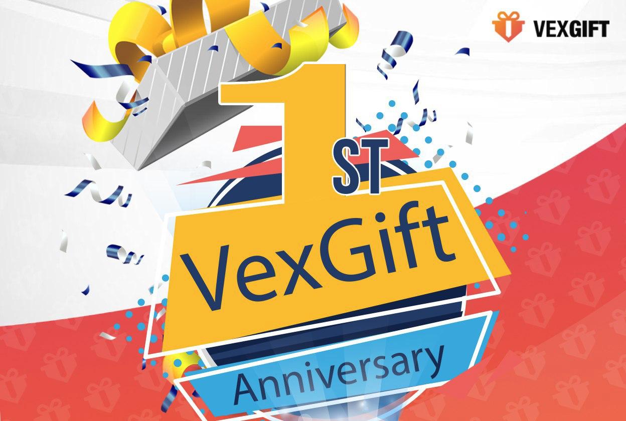 VexGift 1st Anniversary