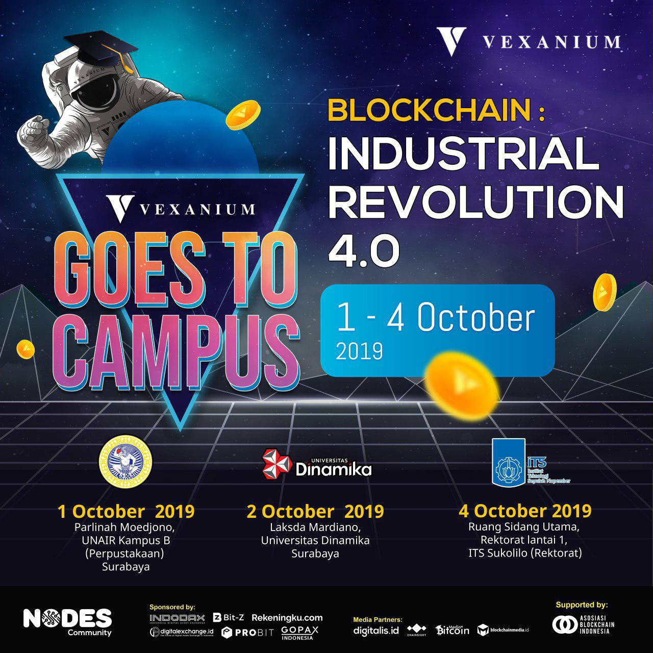 Vexanium Goes to Campus 2019 – Surabaya