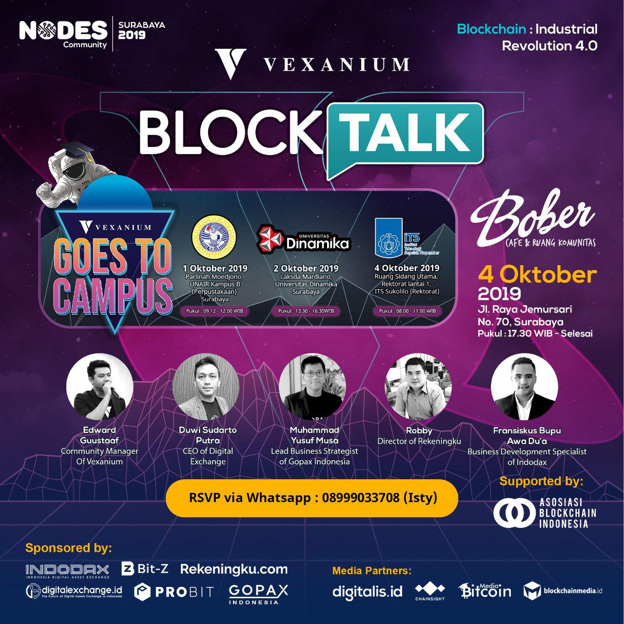 Vexanium Surabaya Roadshow 2019 Highlight
