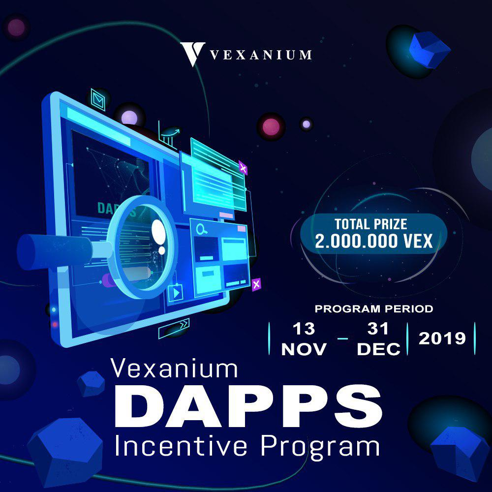 [ENDED] Vexanium Dapps Incentive Program 2019