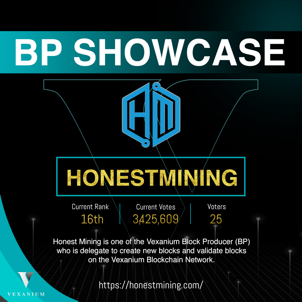 BP Showcase 2019: Honest Mining