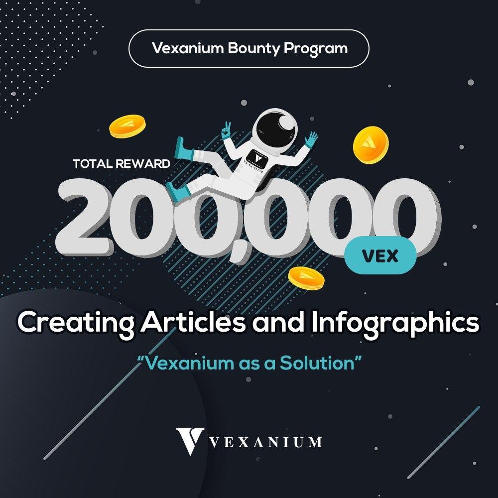 [ENDED] Article Bounty – Vexanium Bounty Program Part 1 (Q1 2020)