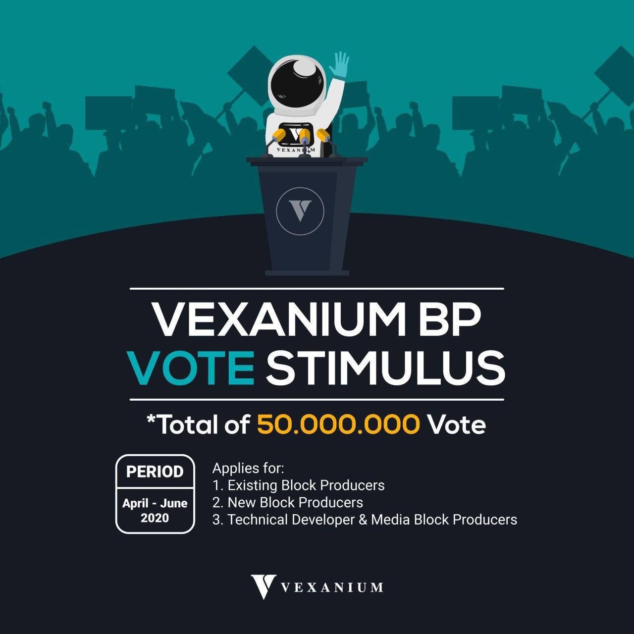 Vexanium BP Vote Stimulus – ID