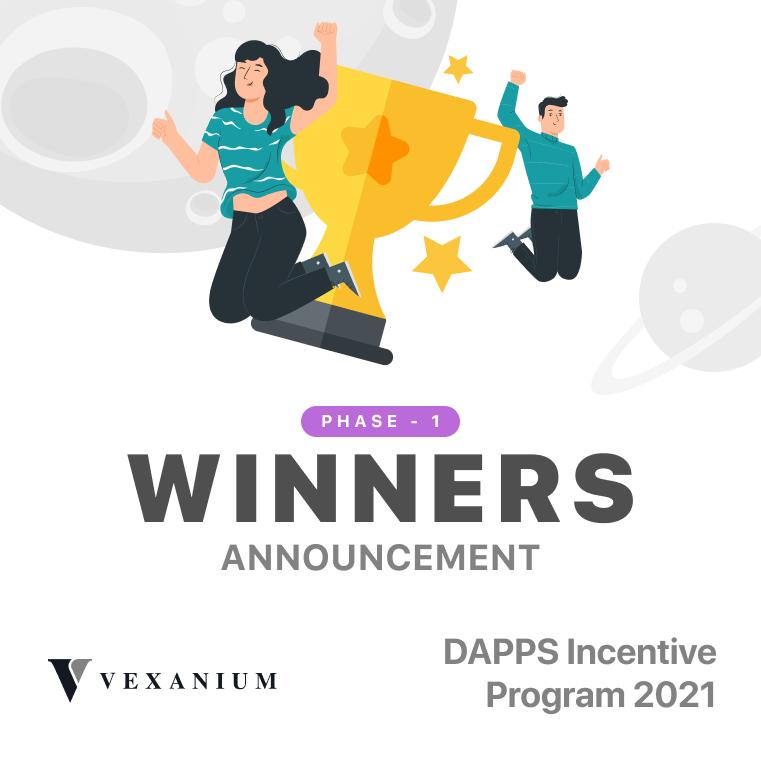 Pengumuman Pemenang Dapps Incentive Program 2021 – Fase 1